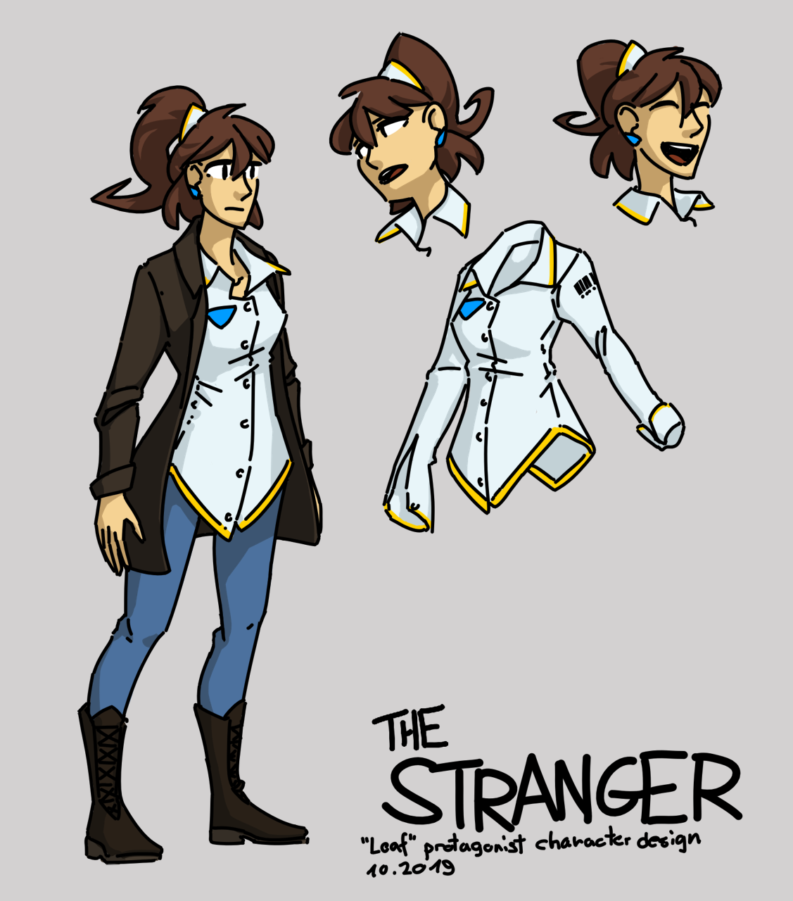 The Stranger's new character design